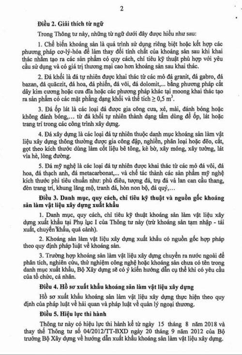 thông tư 05/2018/tt-bxd