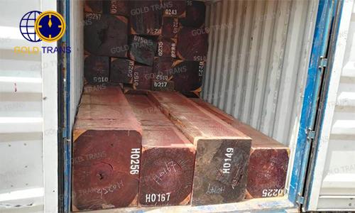 thủ tục nhập khẩu gỗ hương