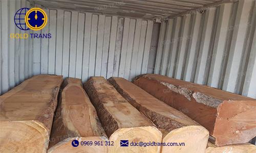 thủ tục nhập khẩu gỗ gõ Doussie