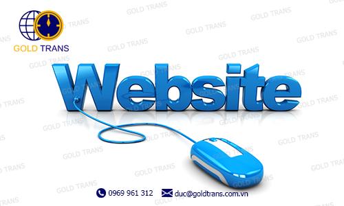 website phục vụ xuất nhập khẩu