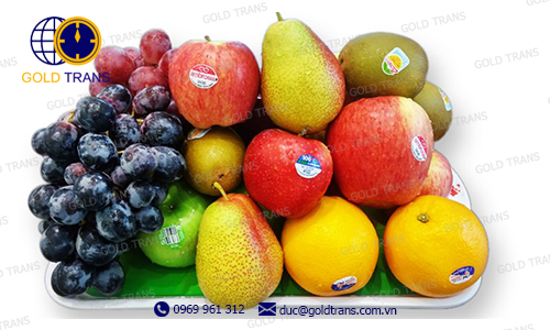 thủ tục nhập khẩu trái cây