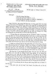 Công văn 2177 hướng dẫn thực hiện Thông tư số 23
